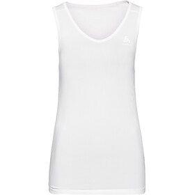 Odlo Performance X-Light V-hals Singlet Top Dames, white